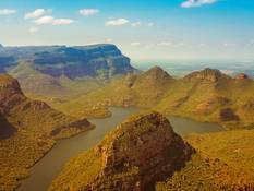 The Blyderiver Canyon.