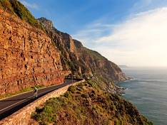 The Chapmans Peak mountain pass,